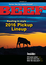 February BEEF Magazine cover