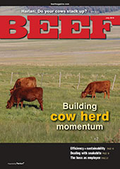 July BEEF Magazine cover